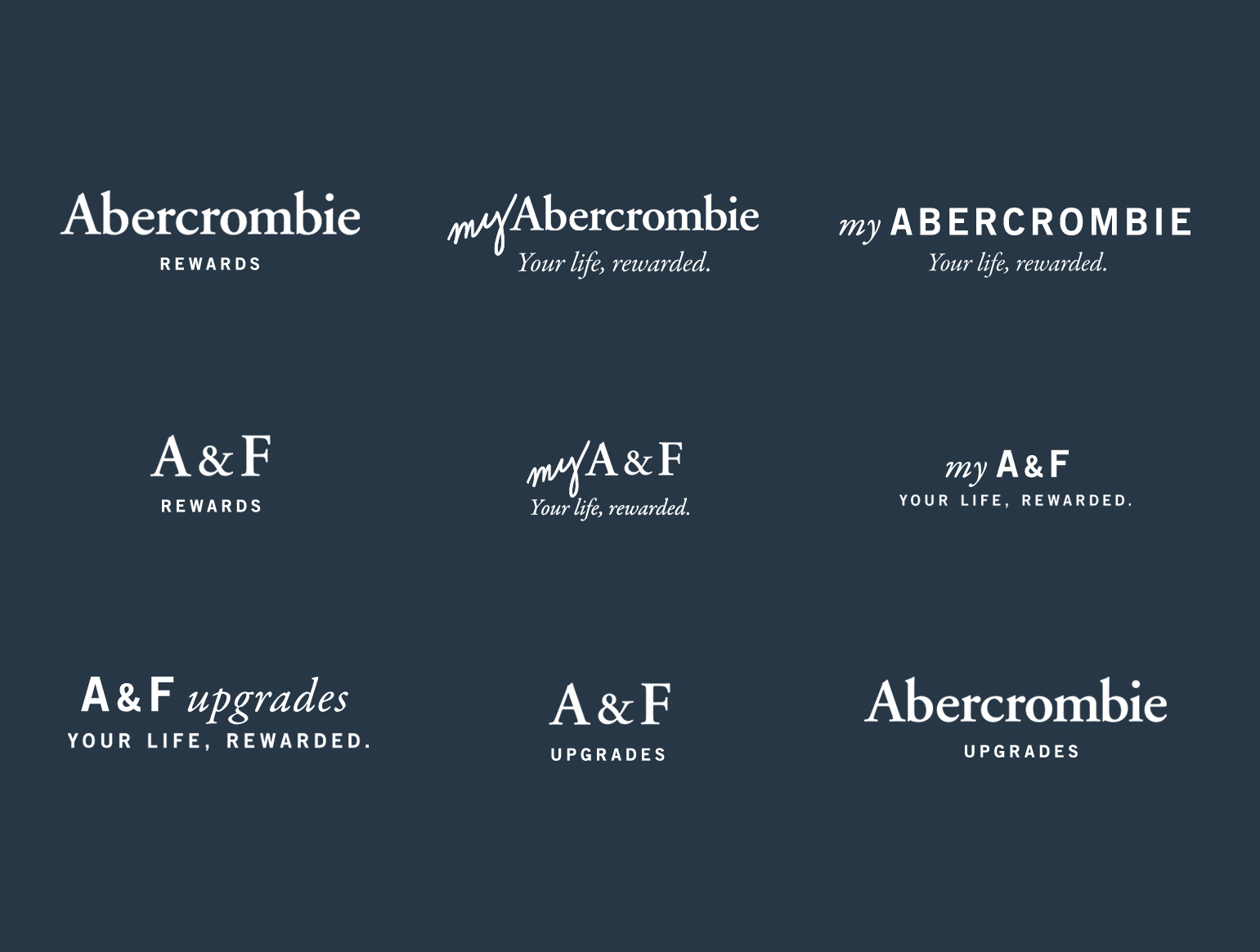 Kara Smarsh — Art Direction + Design Abercrombie Brand Refresh